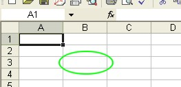 How to use Microsoft Excel: Cell example