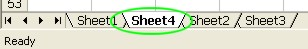Excel Worksheets: Insert a New Worksheet