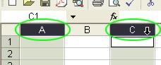 Excel Tips: Non-Neighboring Column Select example