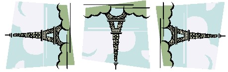 Microsoft Word ClipArt: Rotate example