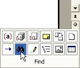 Word Finder: Select Browse Object button
