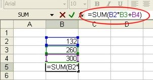 Excel Functions: Formula example 4
